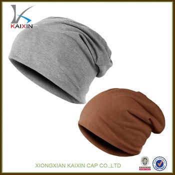 58af5b94302 custom men s slouchy beanie knit slouch beanie hat brown blank slouch beanie