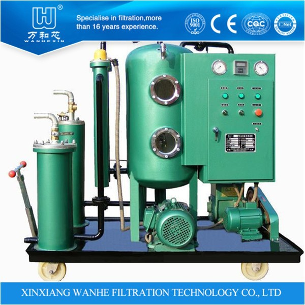ZLYC Series Vacuum Oil Filter Machine Medium Hydraulic Oil and Water Ethylene Glycol