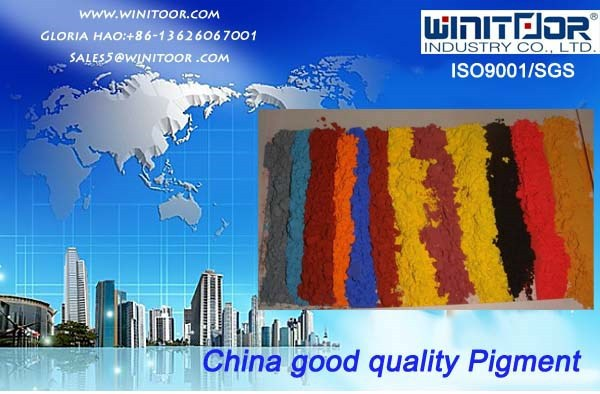 Good Quality Purity 95% pigment iron oxide and yellow ceramic powder for making paint coating/pavers/concret/interlock