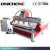 High quality 4 Axis Rotary 3D Wood Four Heads CNC Router