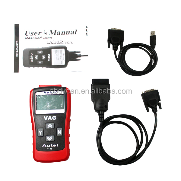 New Auto Scanner CAN Scan Tool VAG 405, OBD2 OBDII EOBD Car Diagnostic tool Autel Code Reader for VW/A-UD-I hot selling