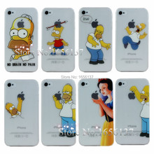 Grind Arenaceous Cases For Apple iphone 4S 4 Case For iPhone4S/4 Shell Snow White Anna Mermaid Ariel Cinderella Girl Cover 1PCS
