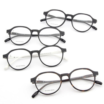 cce2e2ab05 2018 Guangzhou Factory Fashion Women Glasses Frame Men Eyeglasses Frame  Vintage Round Clear Lens Glasses Optical