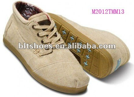 Casual canvas boots men