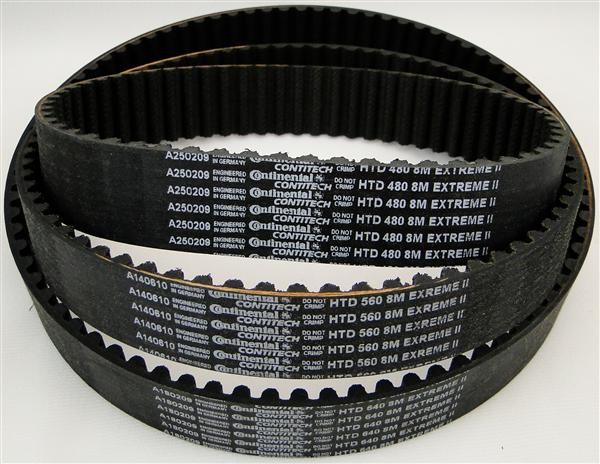 low price import black 3M 5M 8M synchronous timing belt