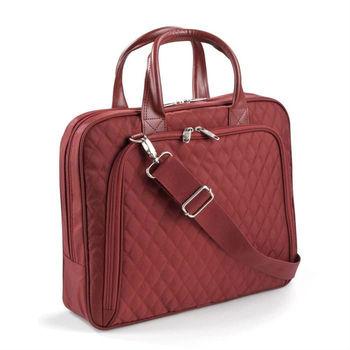Quilted Nylon Women Laptop Bag