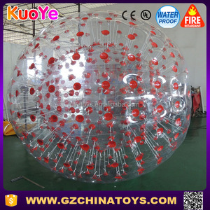 China wholesale cheap price inflatable clear water zorb ball for children and aduldt
