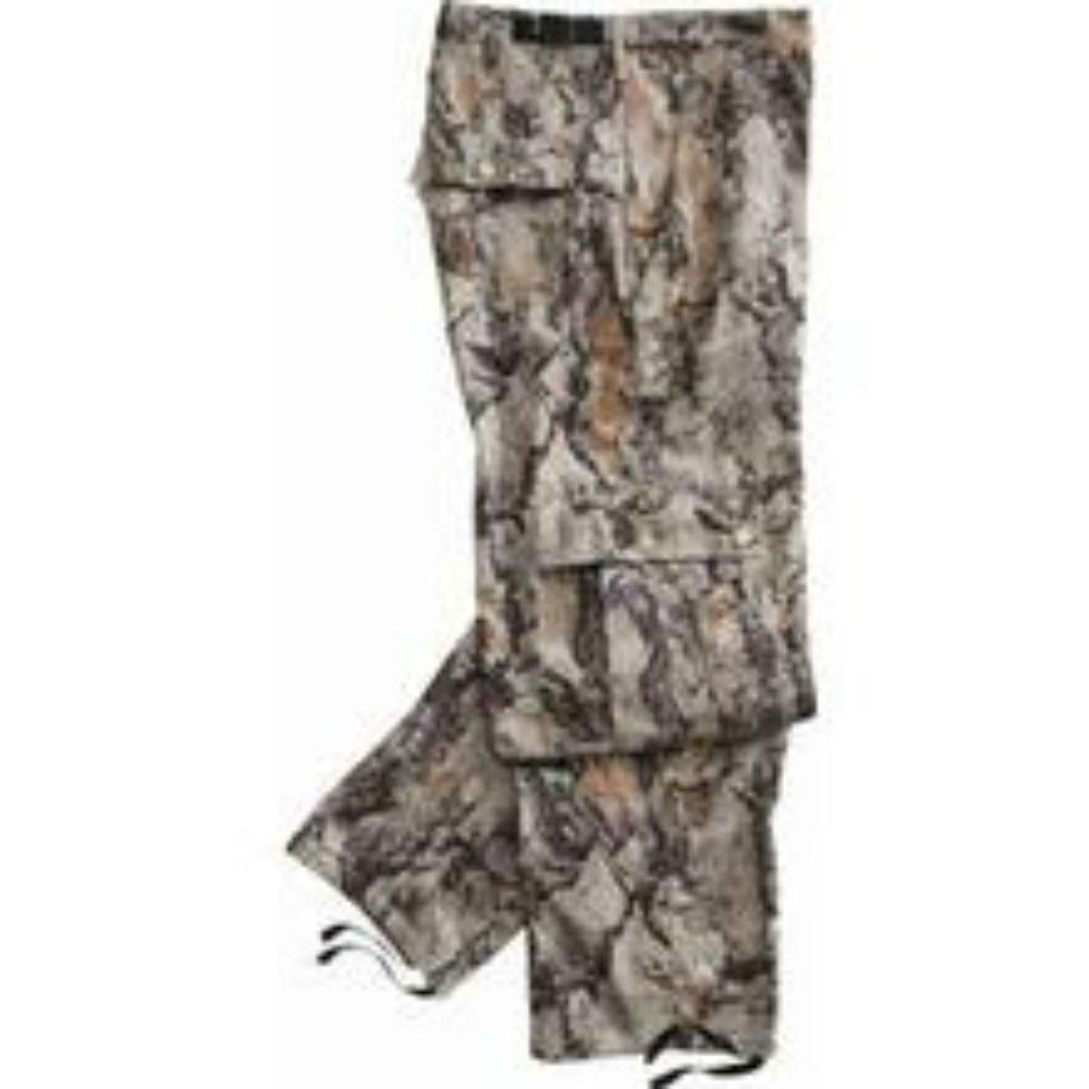 Natural Gear Six-Pocket Flannel Pant Men Women, Lightweight Camo Hunting Pants, Made 100% Cotton Flannel Material