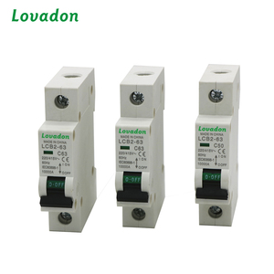 Single Pole Type Low Voltage 1 Amp Breaker Miniature Circuit Breaker Price