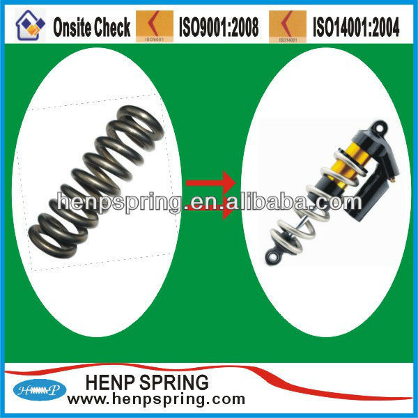 High quality titanium bike spring