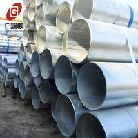 q345 hollow section 36 inch hot dip galvanized steel pipes erw pipe