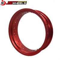 MX Racing Parts Red Color Motorcycle Rims