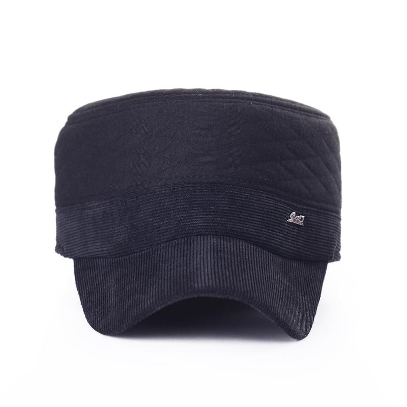 2260fbbf224 Get Quotations · Wholesale Men Women Korean Military Hats Caps Winter  Autumn Cotton Street Hats Adjustable Flat-Top