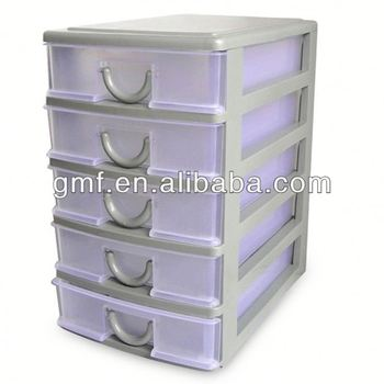 small plastic stackable storage drawers