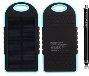 DOPROMAL Solar Panel 12000mah Portable Backup Power Bank Pack Water/ Shock/ Dust Resistant Dual USB Charger 12000mah Solar Battery Panel Dual USB Port Rain-resistant, Dirtproof and Shockproof Portable Charger Backup External Battery Pack Power Bank for Iphone 6, 6 Plus, 5s, 5c, 4s, 4, Ipod Touch,