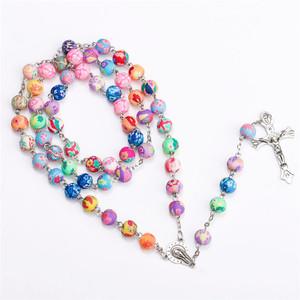 long cross amazon beaded rosary necklace bulk