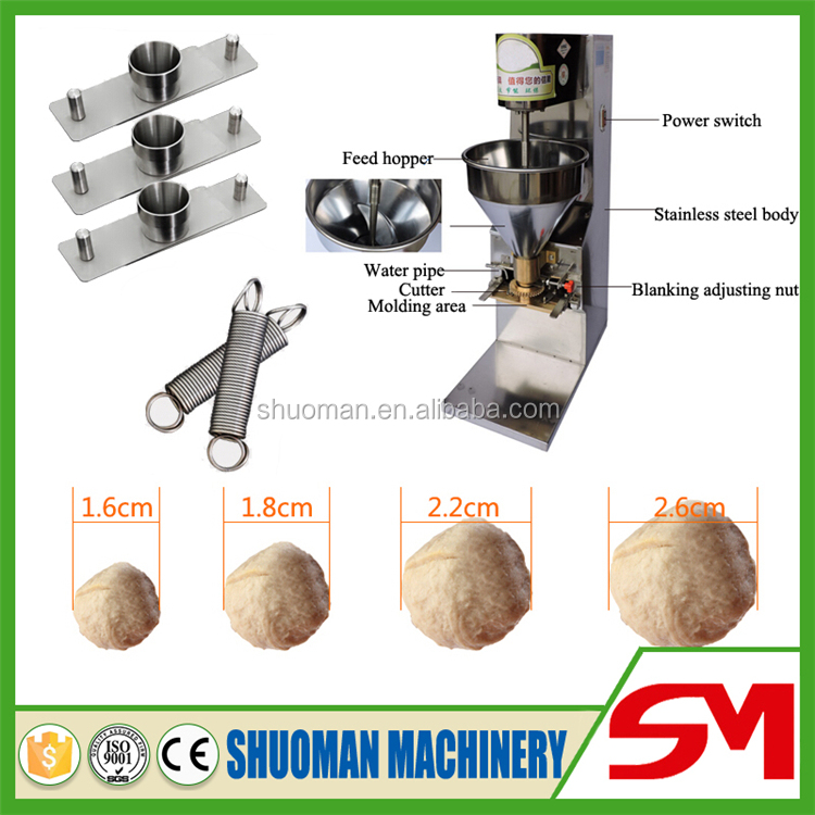 Best after sale service fish ball with roe forming machine for Fish ball with roe
