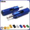 BJ-FP-001 New Arrival Folded Universal CNC Billet Aluminum Rear Set Footpegs
