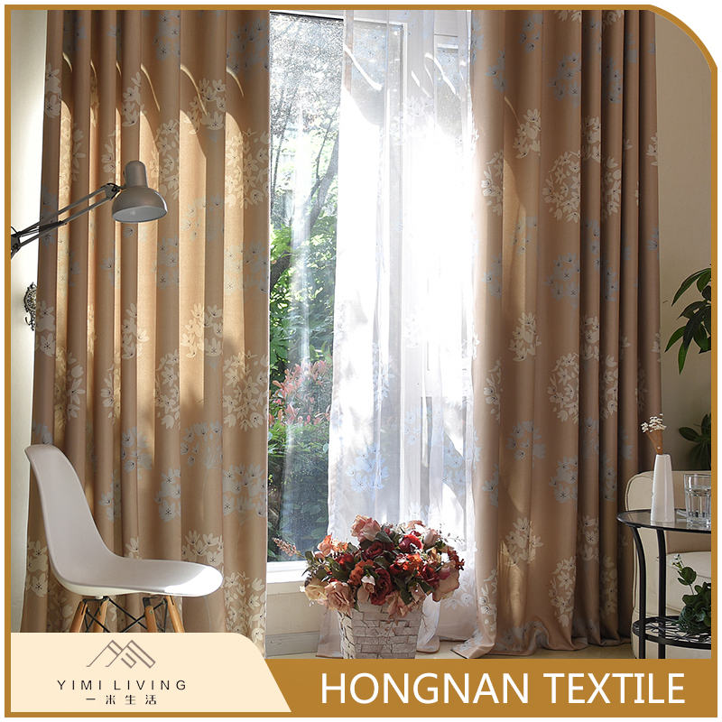 modern design luxury eco-friendly living room blackout window curtain