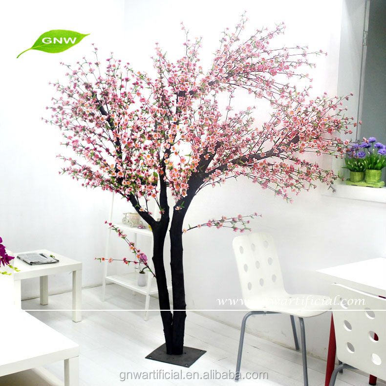 Artificial Japanese Cherry Blossom Fabric Flower Tree Indoor Wedding