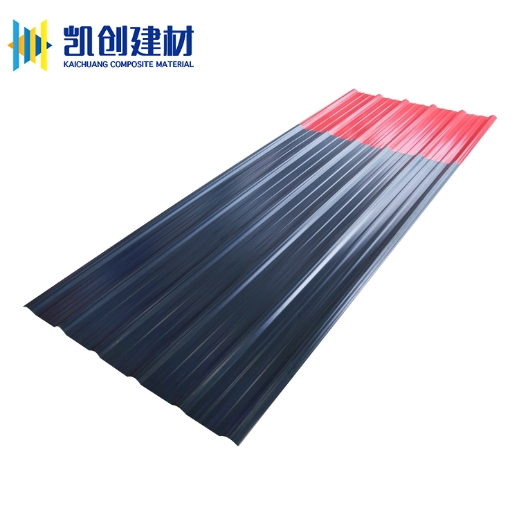 High quality pvc fireproof roofing materials tile sheet for workshop villa roof