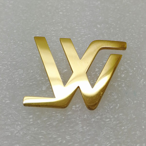 Fashion Customized Metal plate Custom Made Zinc Alloy Lapel Pin Name badge metal crafts