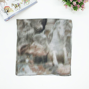 Best-selling thin scarf shawl digital printed chiffon georgette scarf