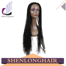 Cheap Synthetic Heat Resistant braided full lace front wigs, popular fashion lady star wig