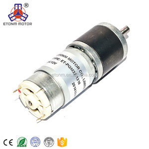 planetary gearbox 60rpm 5v dc gear motor 6mm shaft 24v brushless dc motor controller