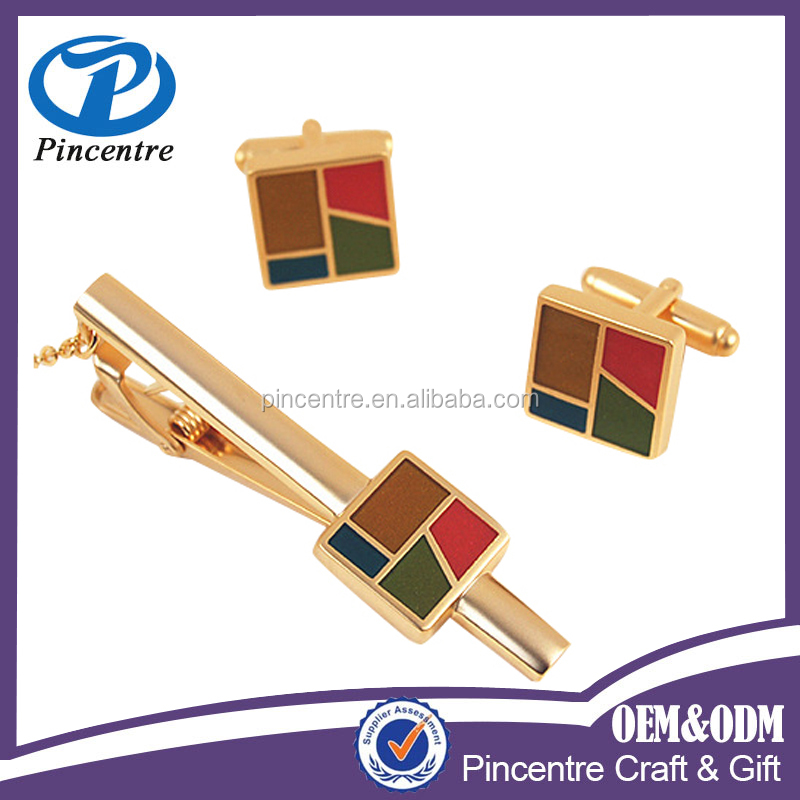 Wholesale high quality fashion designs tie cufflink gift set From China