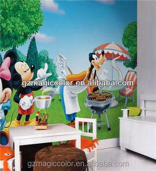 Mickey Mouse Und Donna Duck Cartoon Fototapete Zum Restaurant Dekoration -  Buy Mickey Mouse Und Donna Ente Tapete,Cartoon Fototapete,Mickey Maus ...