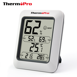 ThermoPro TP-50 Digital Hygrometer Indoor Thermometer Humidity Monitor with Temperature Humidity Gauge