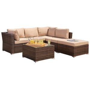 patio furniture outdoor rattan wicker garden furniture sofa set