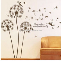 MOQ 500 Factory Cheap Removable Vinyl Wall Sticker Decoration