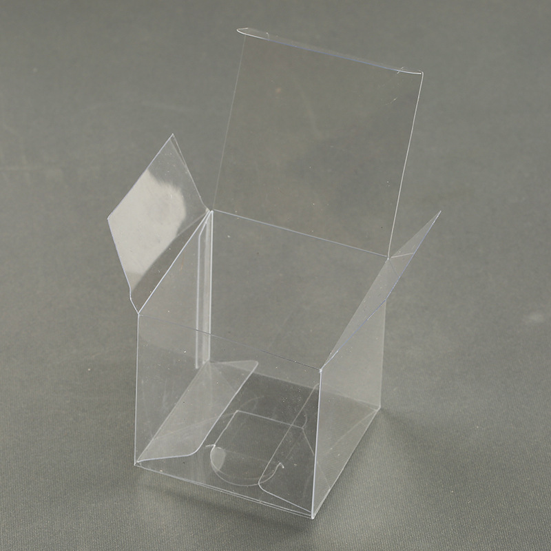 waterproof and foldable transparent pvc box packaging with eu hang hole good glue quality for pvc