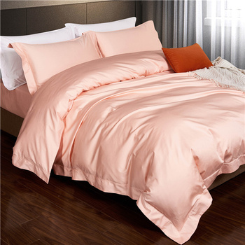 600TC Queen Size 100% Cotton Silk Feeling Bedding Set