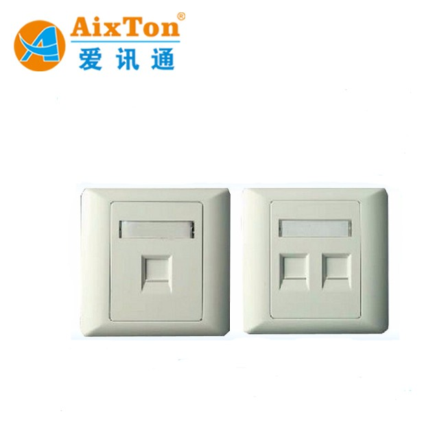 HIGH QUALITY uk 86 type rj45 faceplate