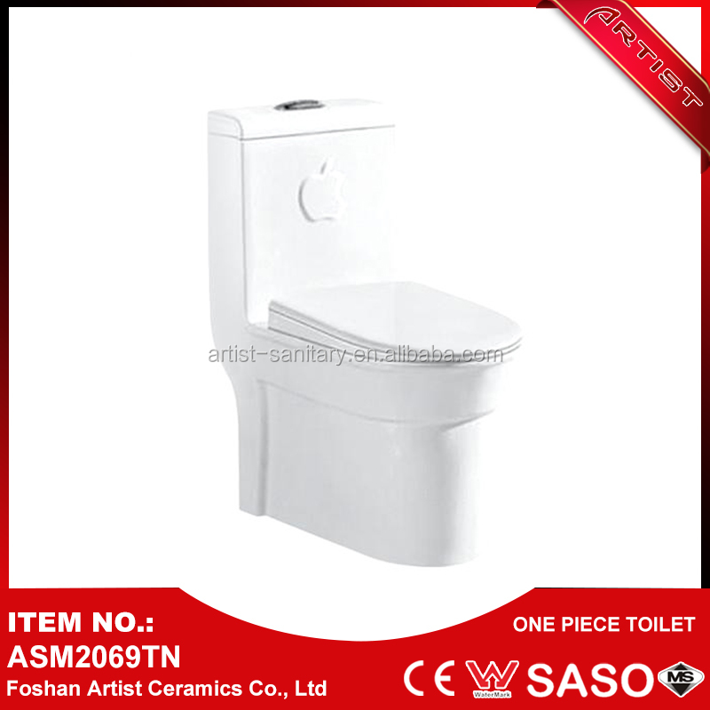 Made In China Alibaba Sanitary Bathroom Set Double Siphonic Flush Toilet