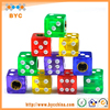 BYC Colorful Dice Anti-Dust Tire Valve Caps Motorcycle Tire