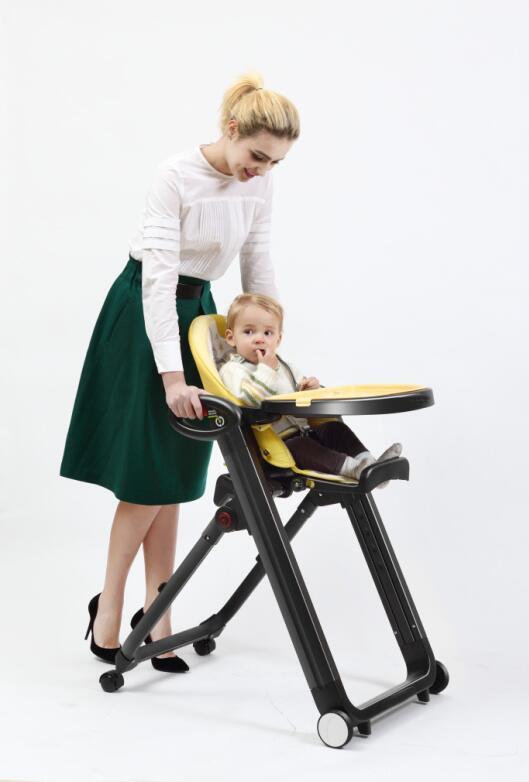 nouveau point noir chaise pour b b cologique pu doux enfants manger bebe chaise haute chaise. Black Bedroom Furniture Sets. Home Design Ideas