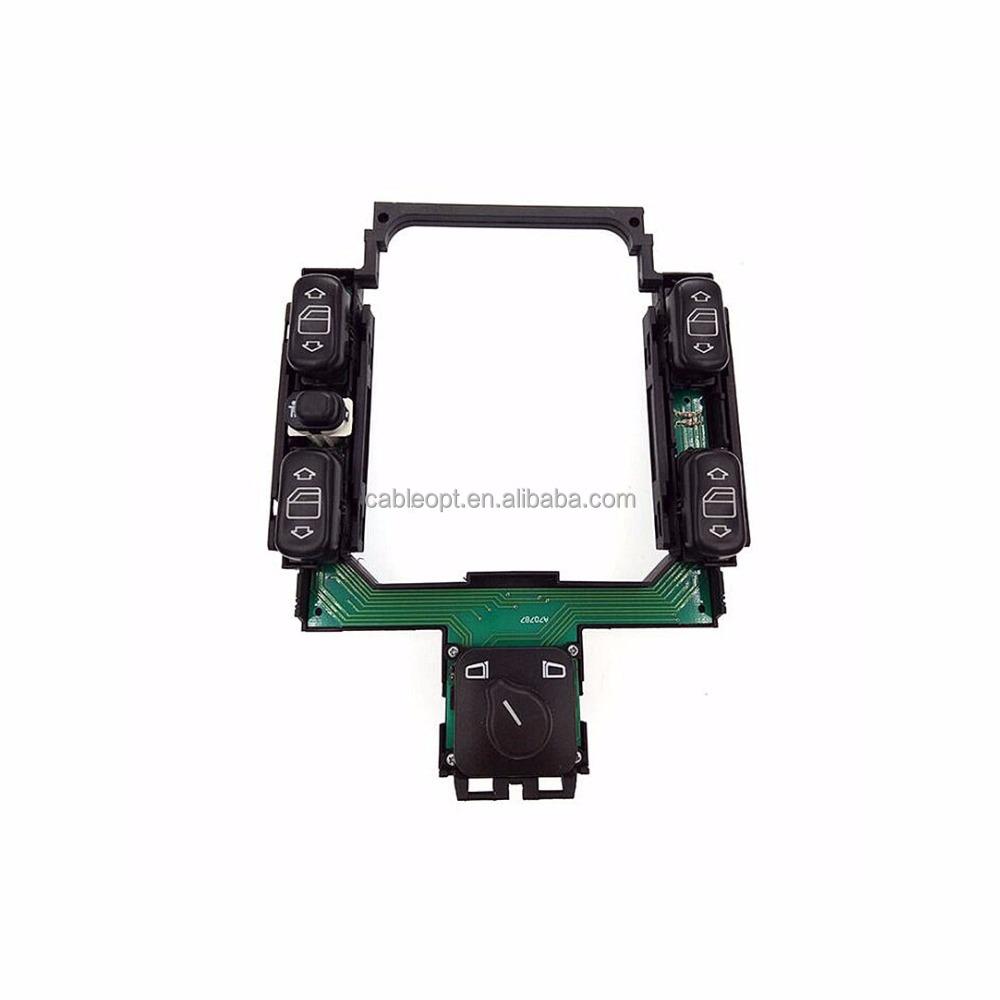 Master Window Control Switch Center Console Fit Mercedes Benz C230 C220 C280 C36