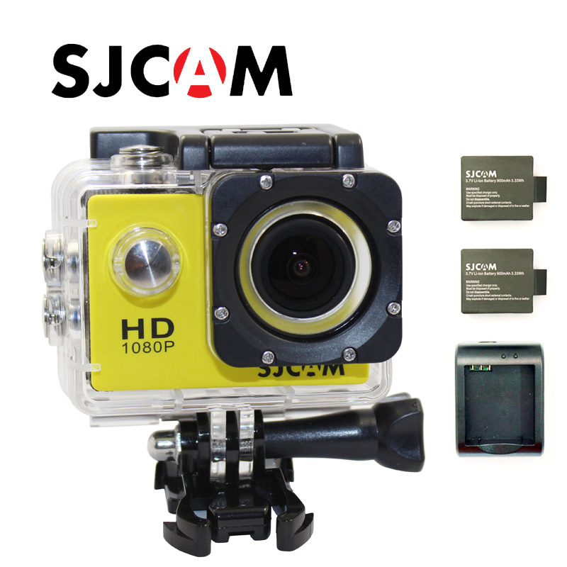 Free shipping!!Original SJ4000 SJCAM Sport Action GoPro Style Cam+Battery Charger+Extra 1pcs battery+the monopod