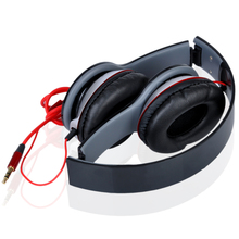 New High Quality Fashion Adjustable Headband Earphone Headphone 3 5mm With Mic For iPod For PC