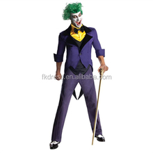 Hot Sale Men's Hero Costume Joker Costume for Men