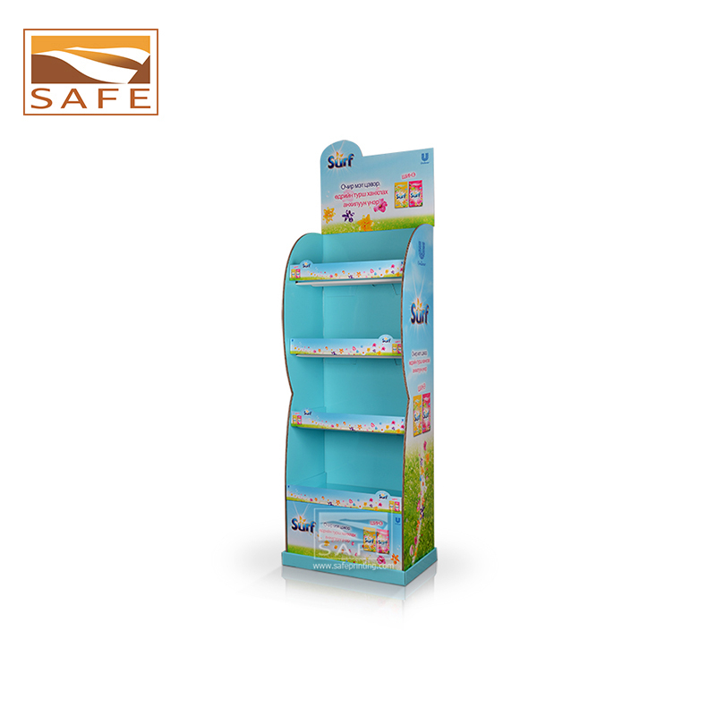 Supermarket Promotional Balloon 3 Tier Wire Basket Display Stand ...