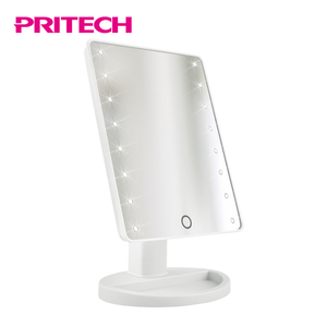 PRITECH Customized Fashion 16 Led Lamp Mirror Makeup