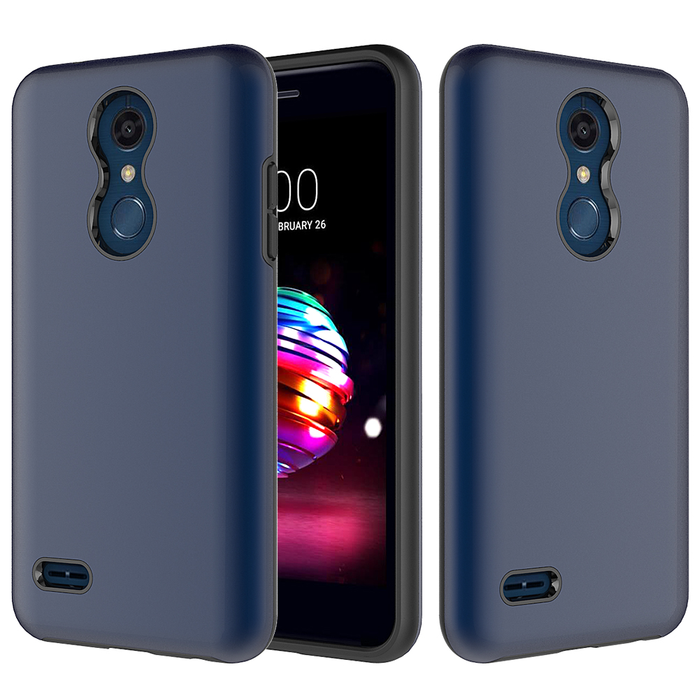 For Lg K10 2 In 1 Phone Case Cover 2in1 Brushed Hybrid Armor Soft K8 Hardcase Suppliers And Manufacturers At