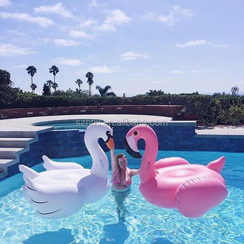 Superior Wholesale Flamingo Swan Giant Inflatable Pool Float Manufacture