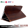 Hot! promotional genuine leather handmade case for iPad mini 2/3/4/5 Air