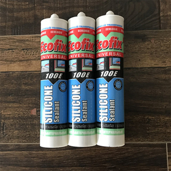 Fire rated Small tube 300ml two component aquarium silicone sealant